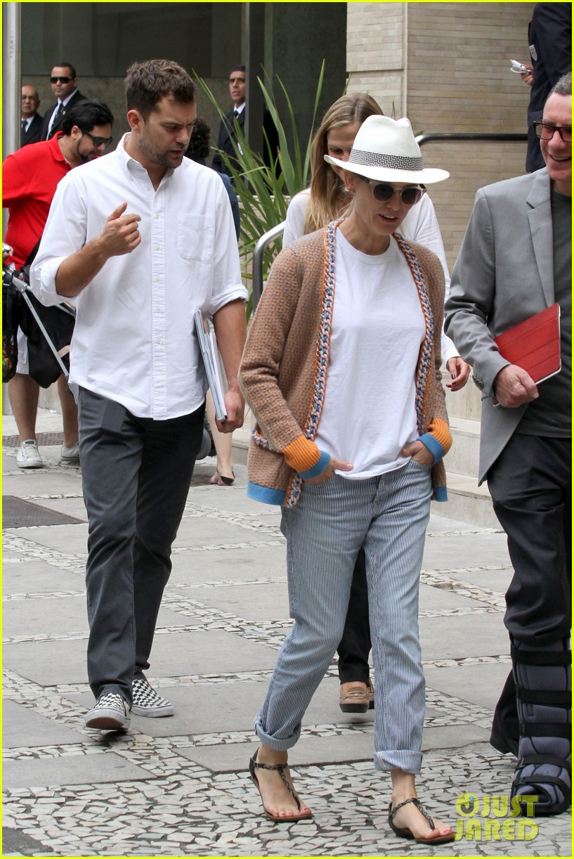 diane kruger joshua jackson lunch with pals in rio 09