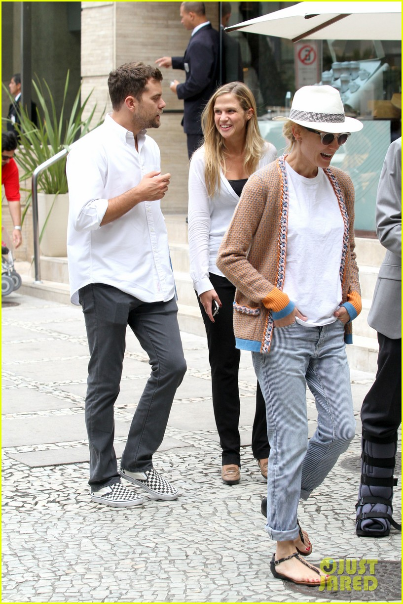 diane kruger joshua jackson lunch with pals in rio 12