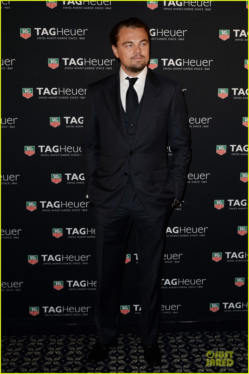 leonardo dicaprio tag hauer carrera celebration 032987270