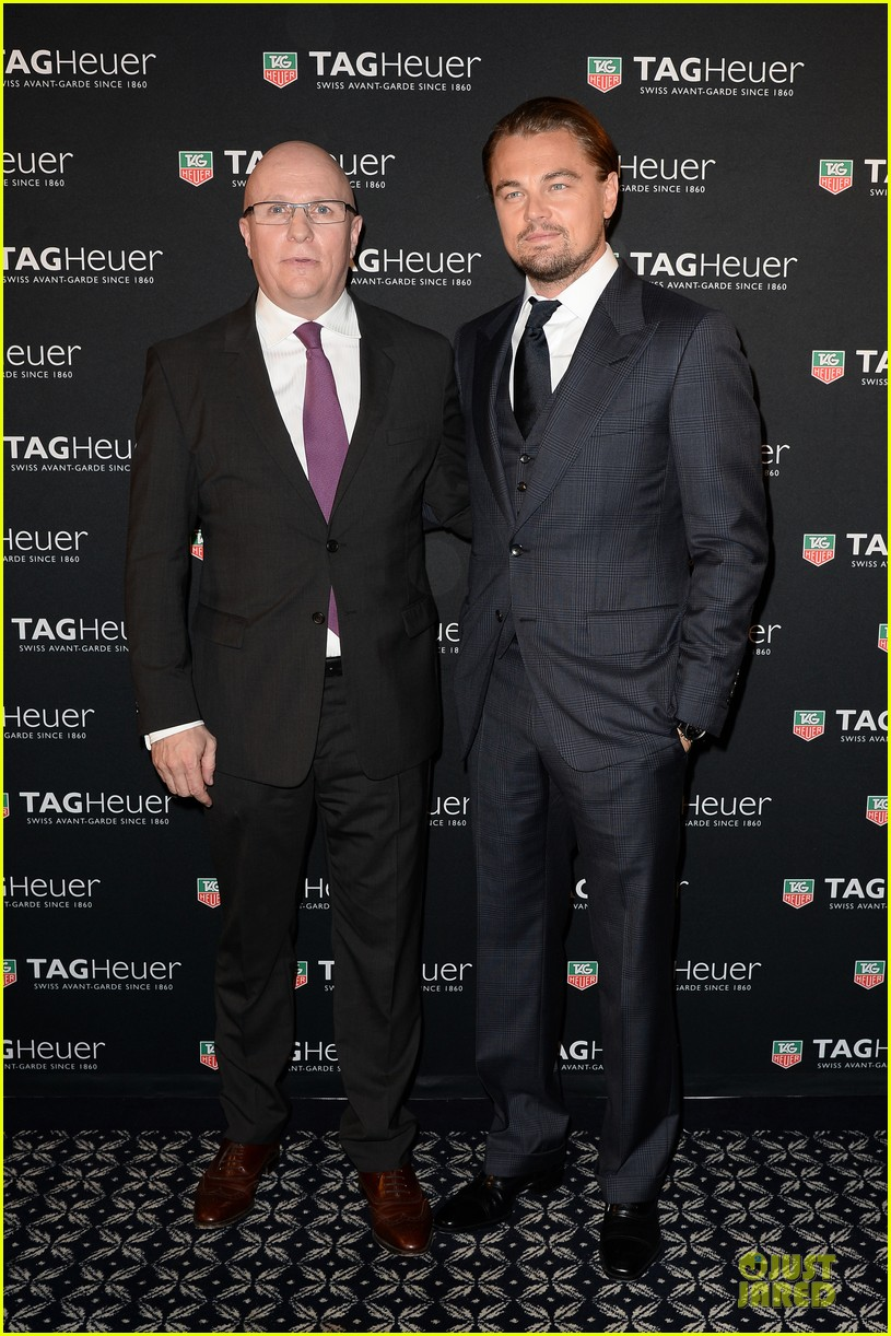 leonardo dicaprio tag hauer carrera celebration 082987275