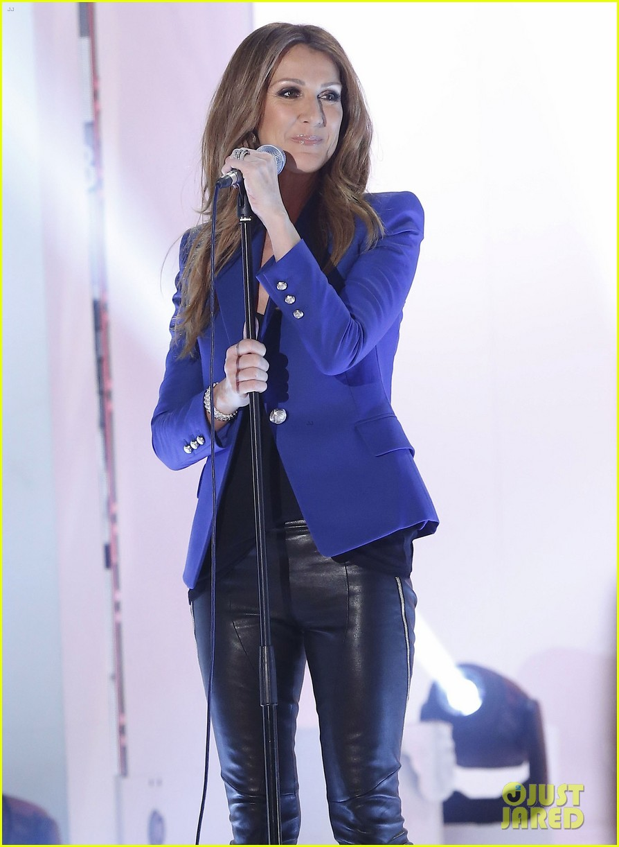celine dion promotes loved me back to life in france 06