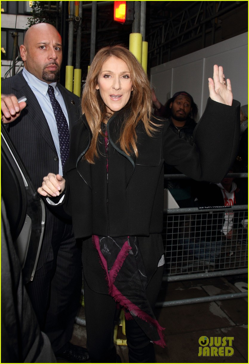 celine dion promotes loved me back to life on album release day 12