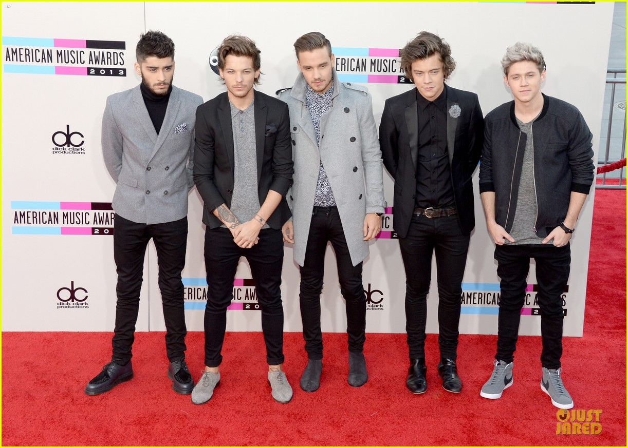 one direction amas 2013 red carpet 032999263
