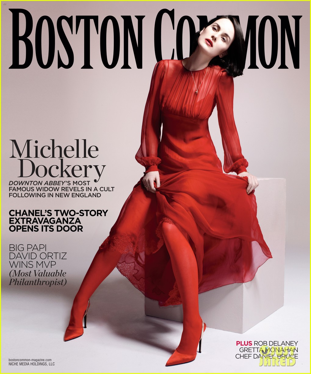 michelle dockery covers boston common holiday issue 033001745