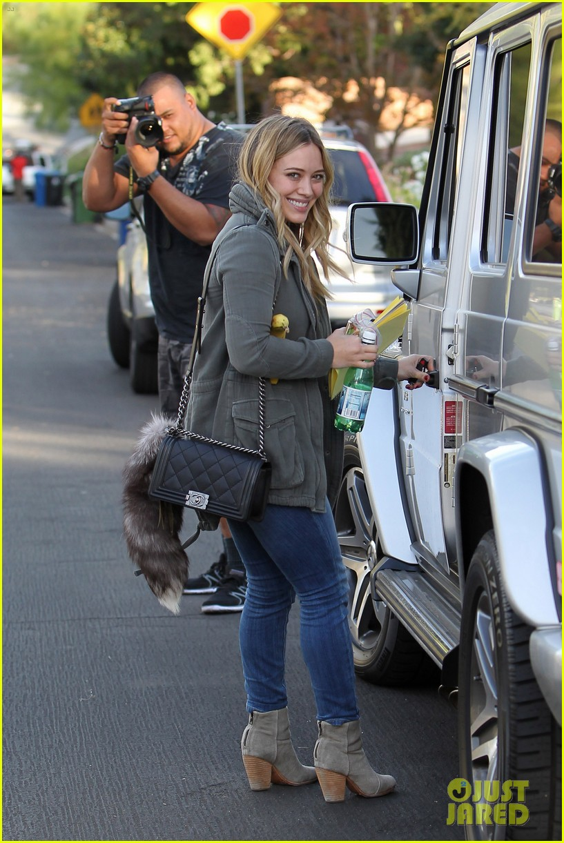 hilary duff only baby im working on is my album 052987563