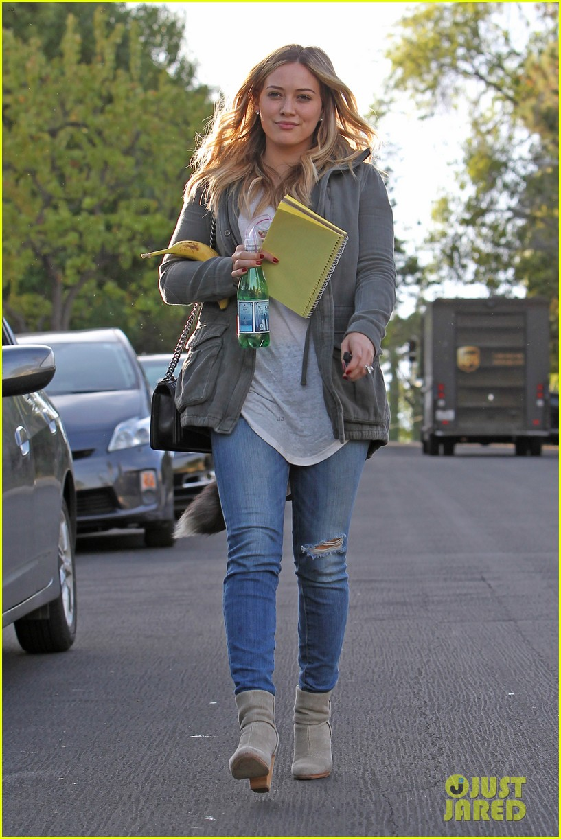 hilary duff only baby im working on is my album 132987571