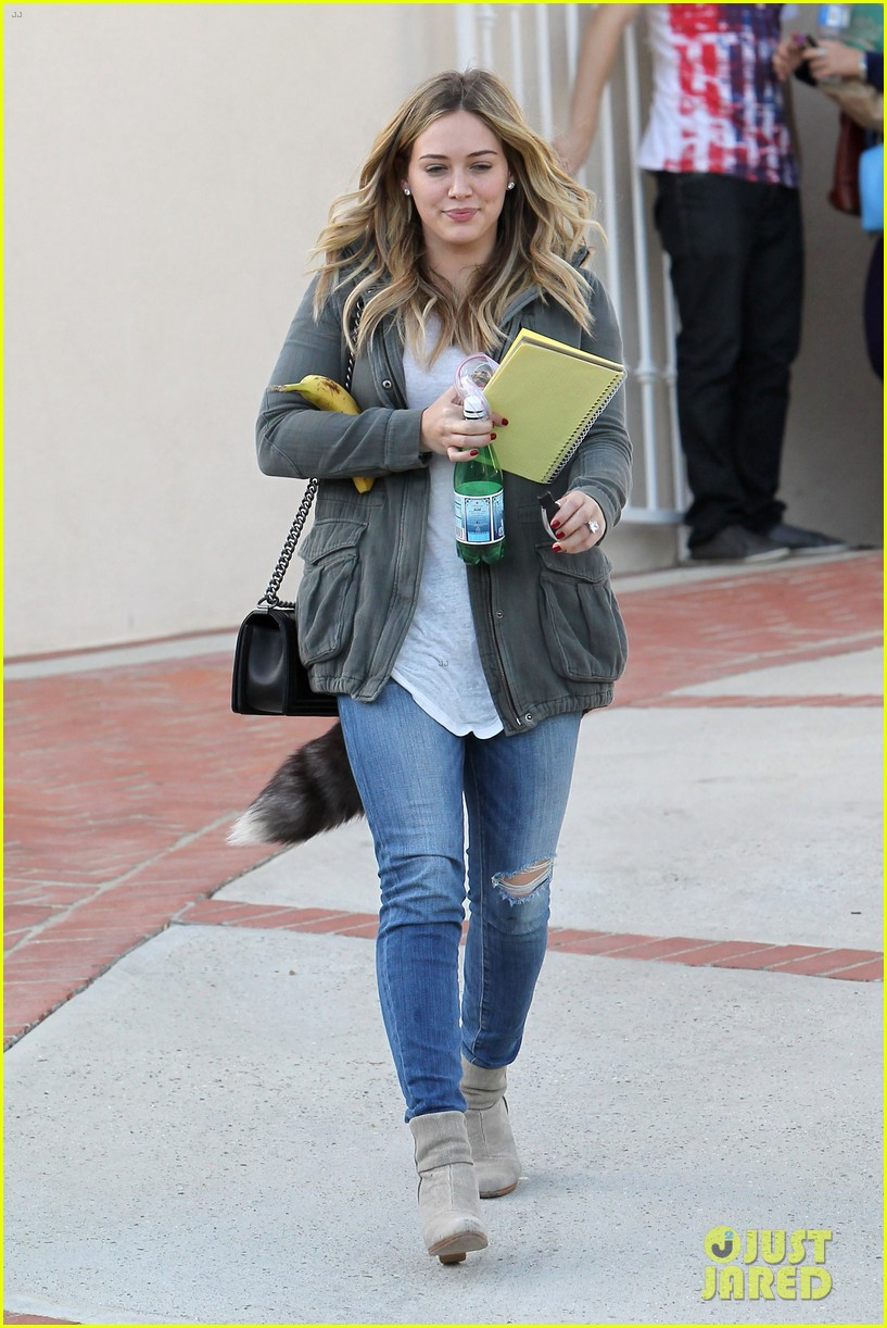 hilary duff only baby im working on is my album 182987576