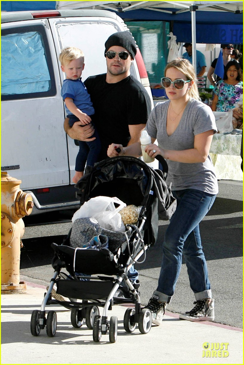 hilary duff monday workout after farmer market fun 032990660