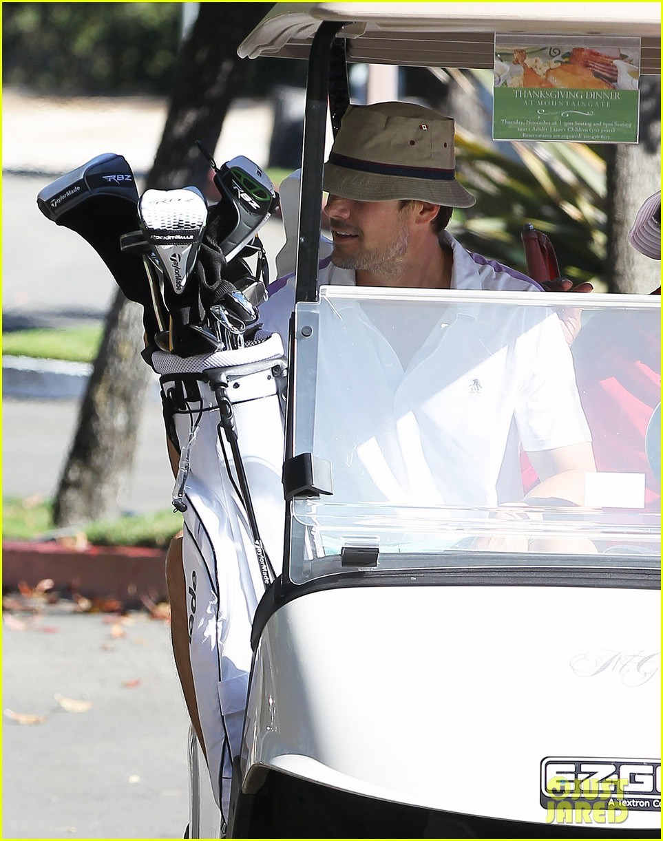 josh duhamel celebrates 41st birthday with round of golf 142992999