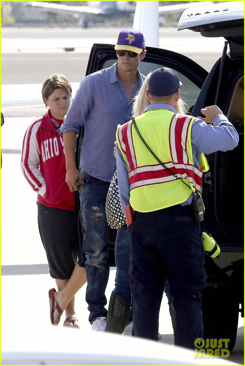 fergie josh duhamel private flight after lacma art film gala 032985920