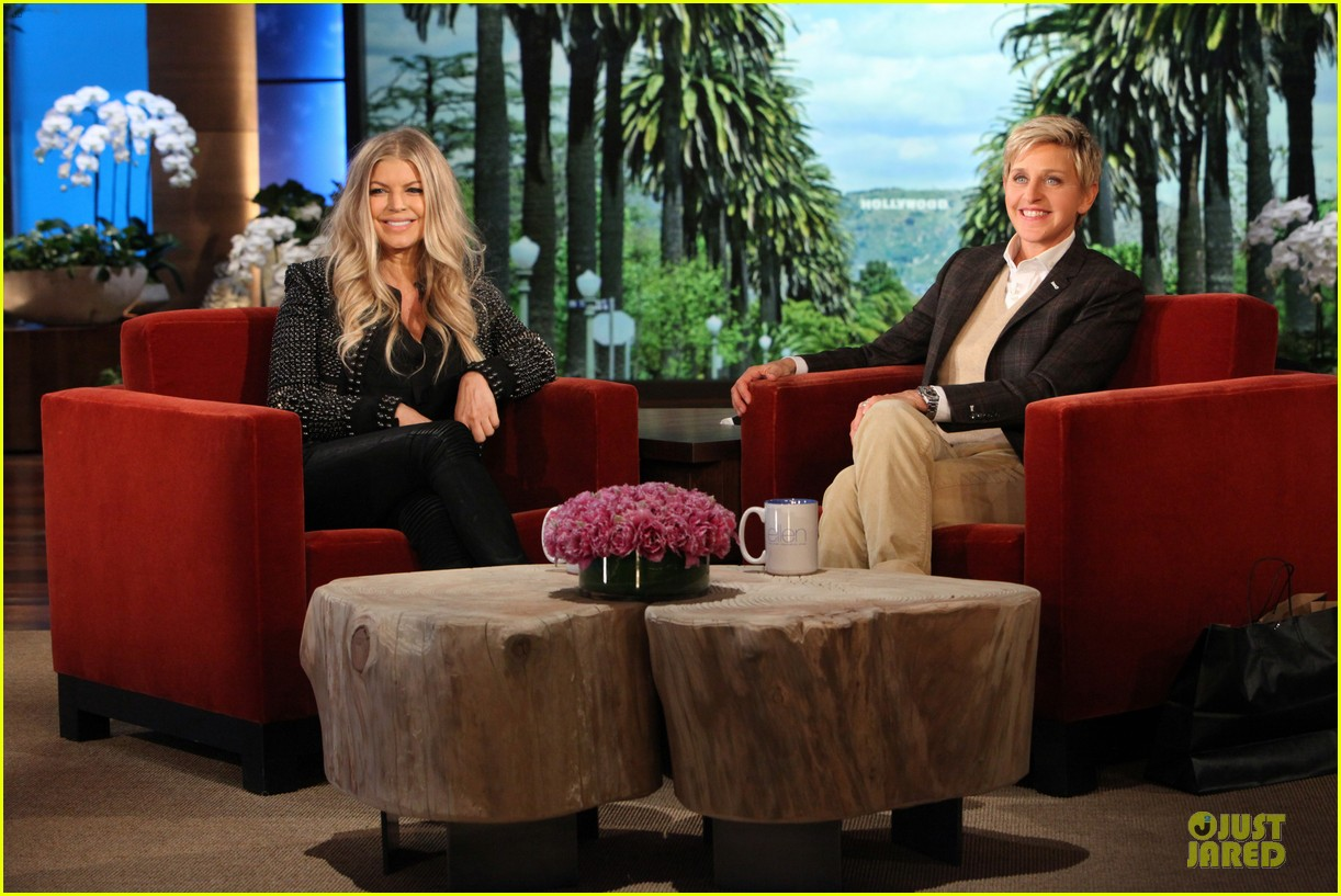 fergie talks axl c section birth on ellen 022996203