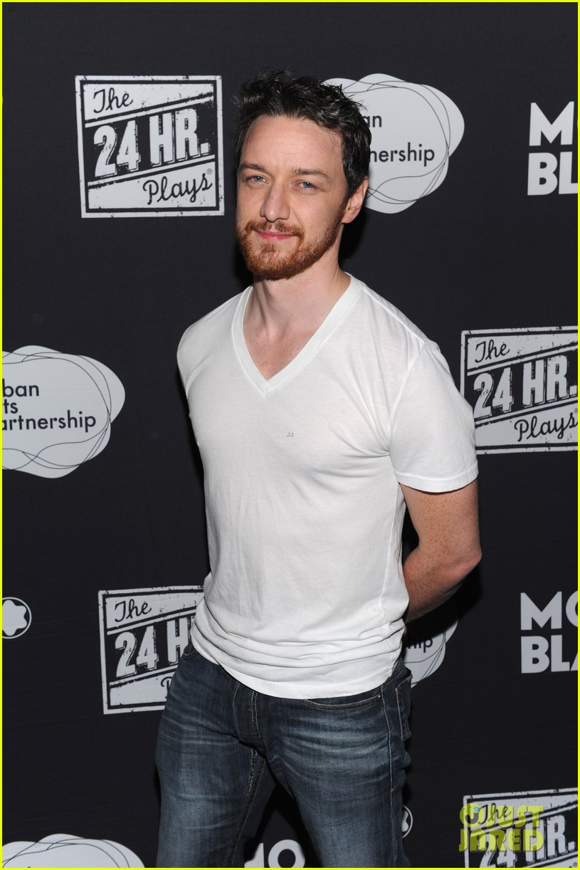 jesse tyler ferguson james mcavoy 24 hour plays on broadway after party 012995834