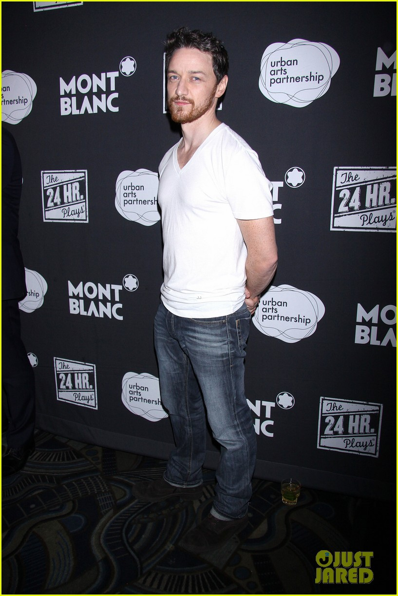 jesse tyler ferguson james mcavoy 24 hour plays on broadway after party 18
