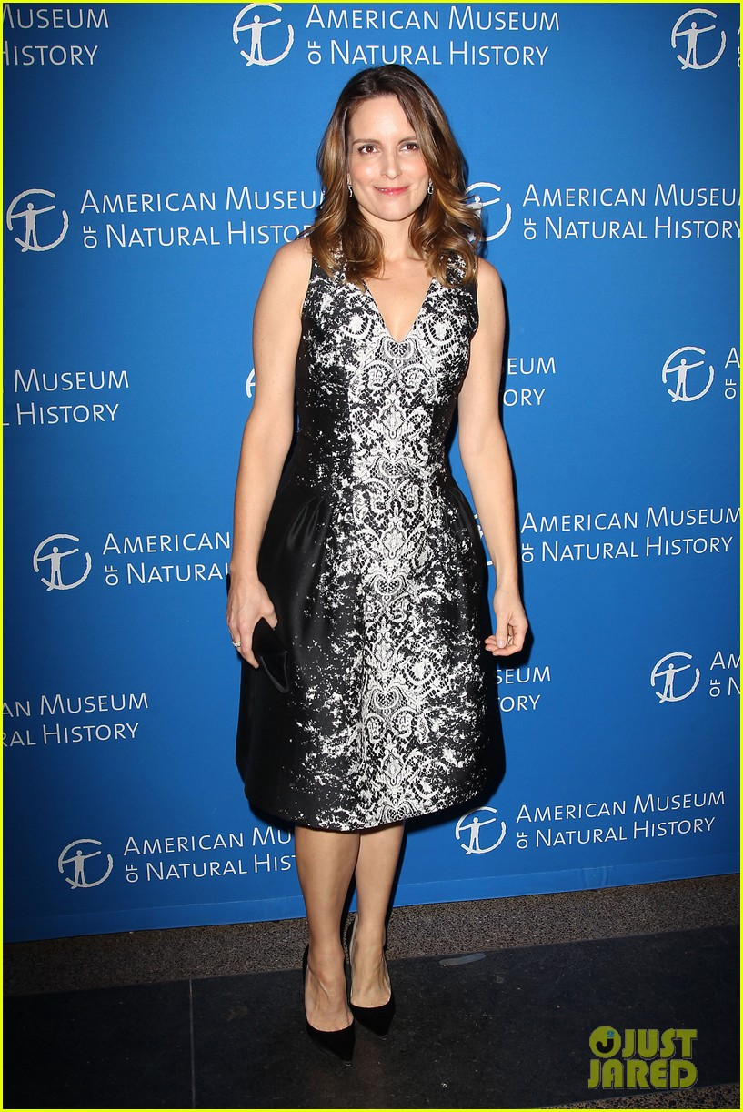 tina fey snl cast museum of natural history gala 2013 012997766