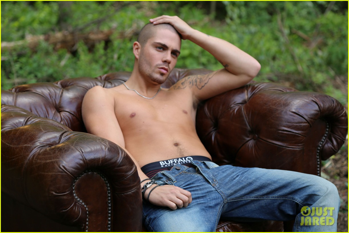 the wanted max george models underwear for buffalo 022992834