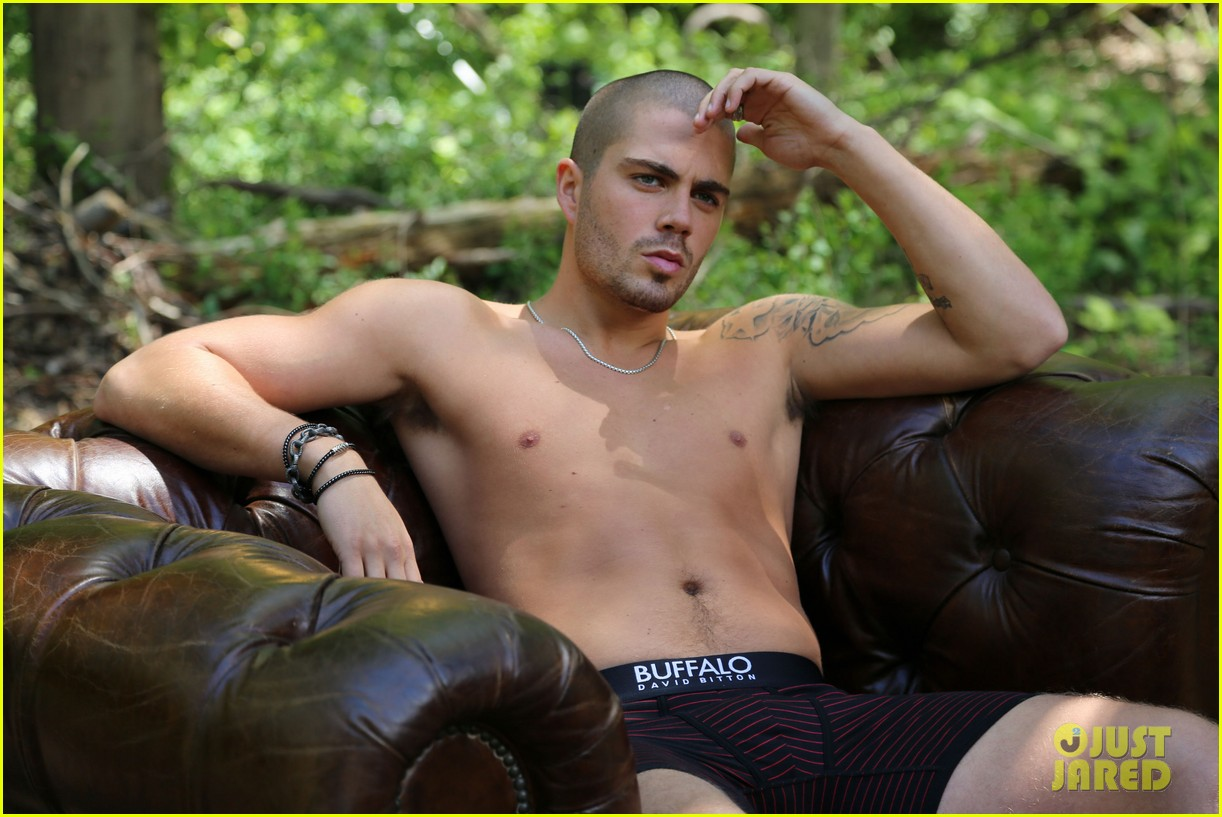 the wanted max george models underwear for buffalo 042992836