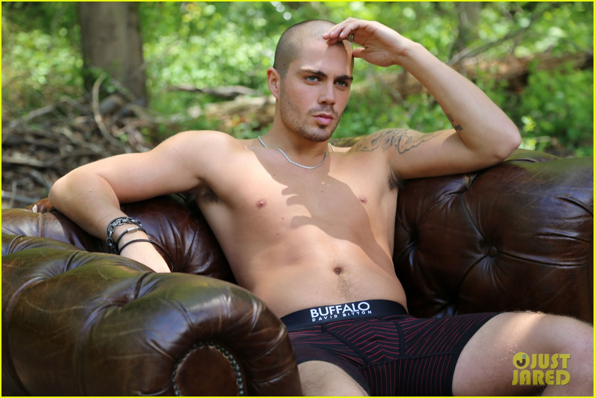 the wanted max george models underwear for buffalo 062992838