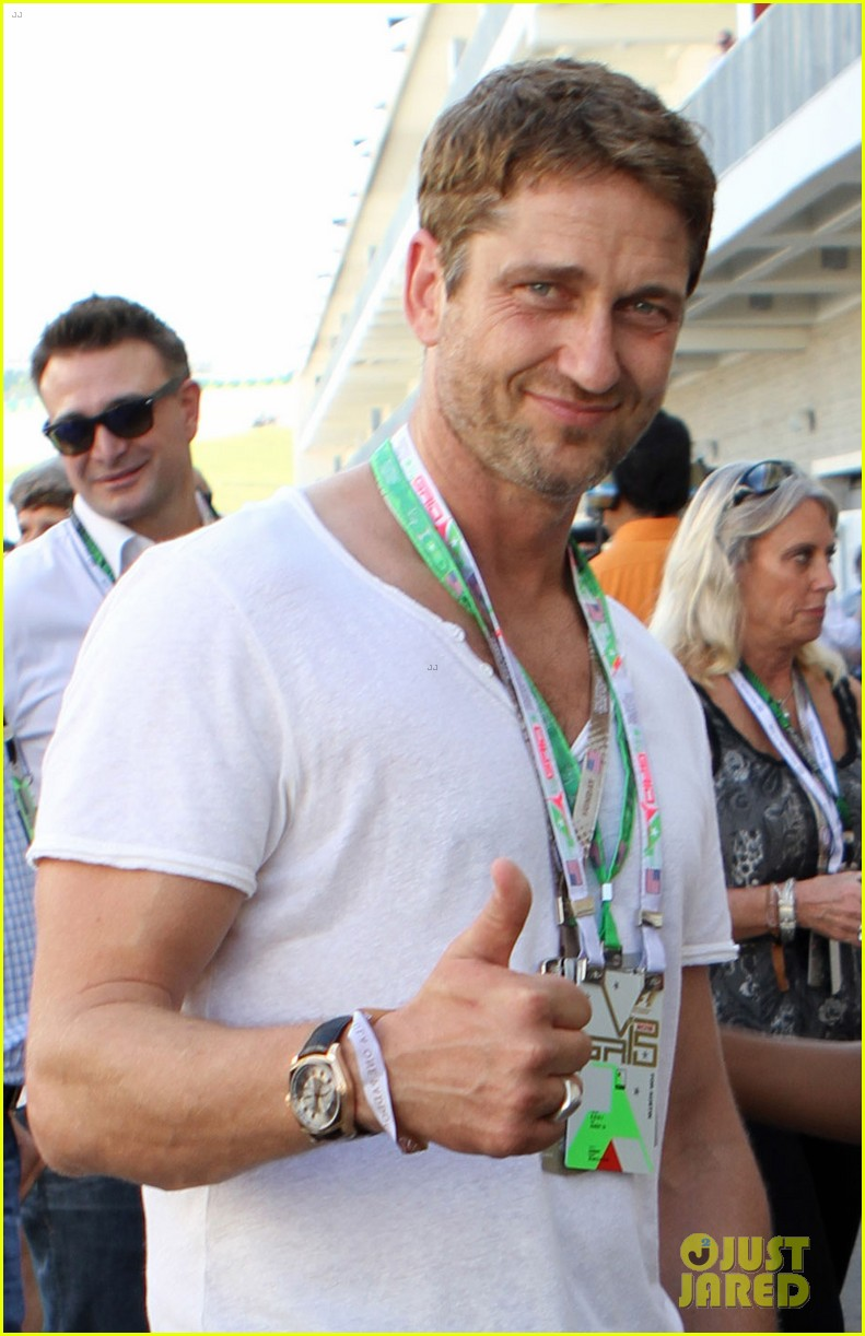gerard butler fan friendly f1 championships 012994904