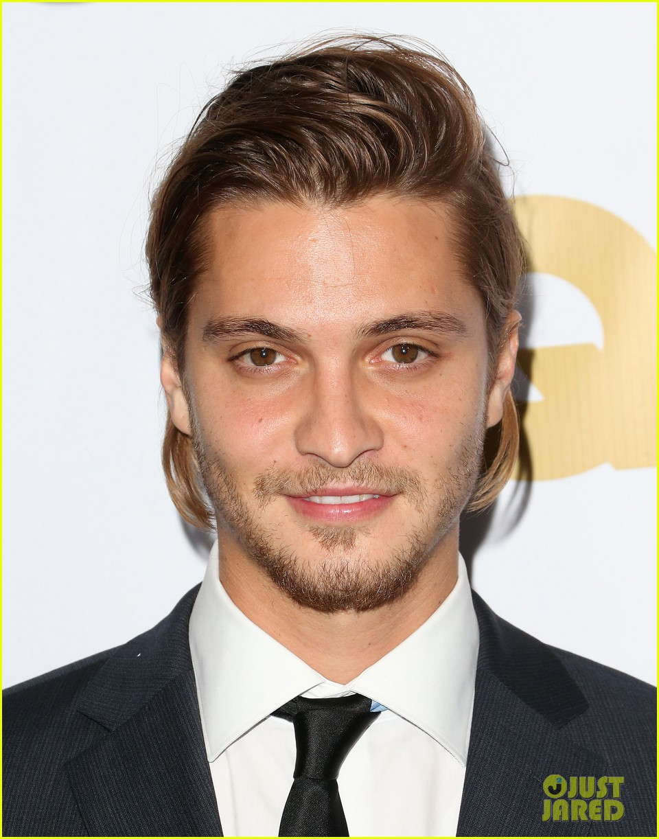 luke grimes gillian zinser gq men of the year couple 04