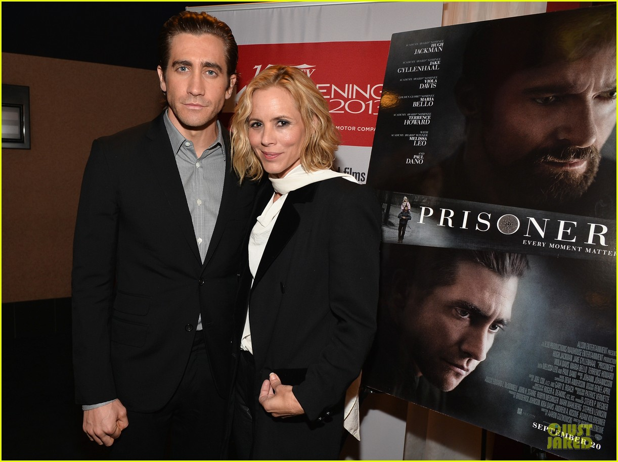 jake gyllenhaal maria bello prisoners variety screening 222993991