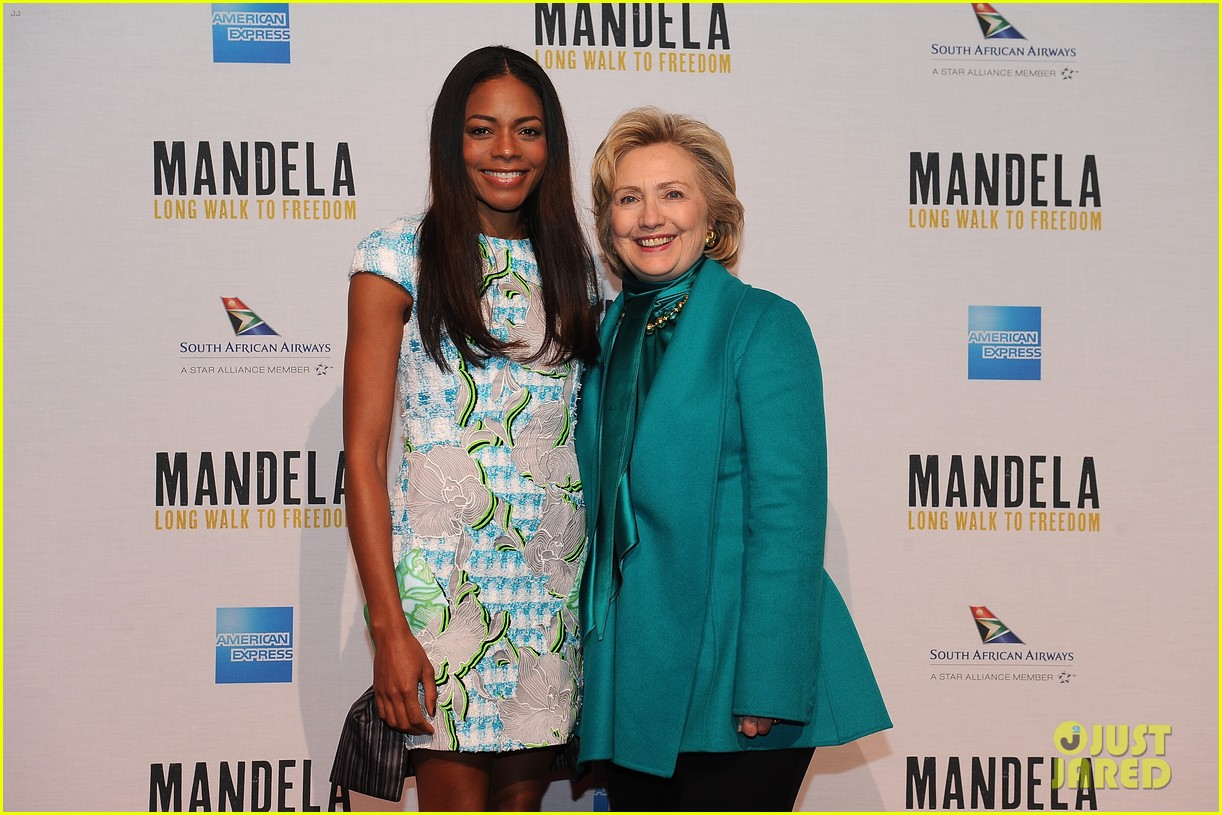 naomie harris mandela dc photo call with hillary clinton 04