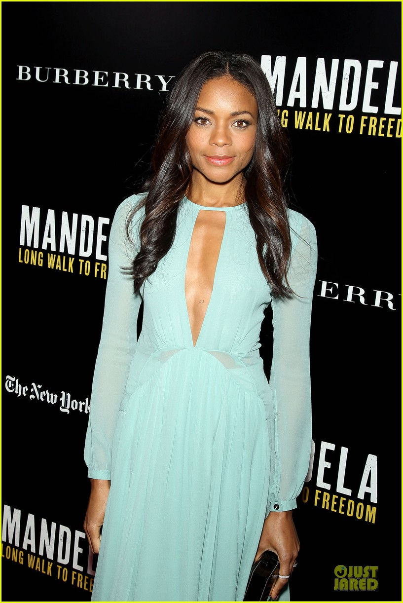 naomie harris idris mandela nyc screening 103000370