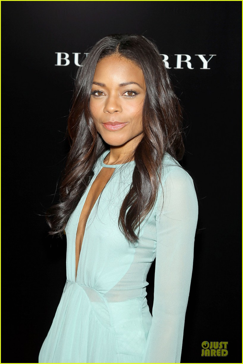 naomie harris idris mandela nyc screening 113000371