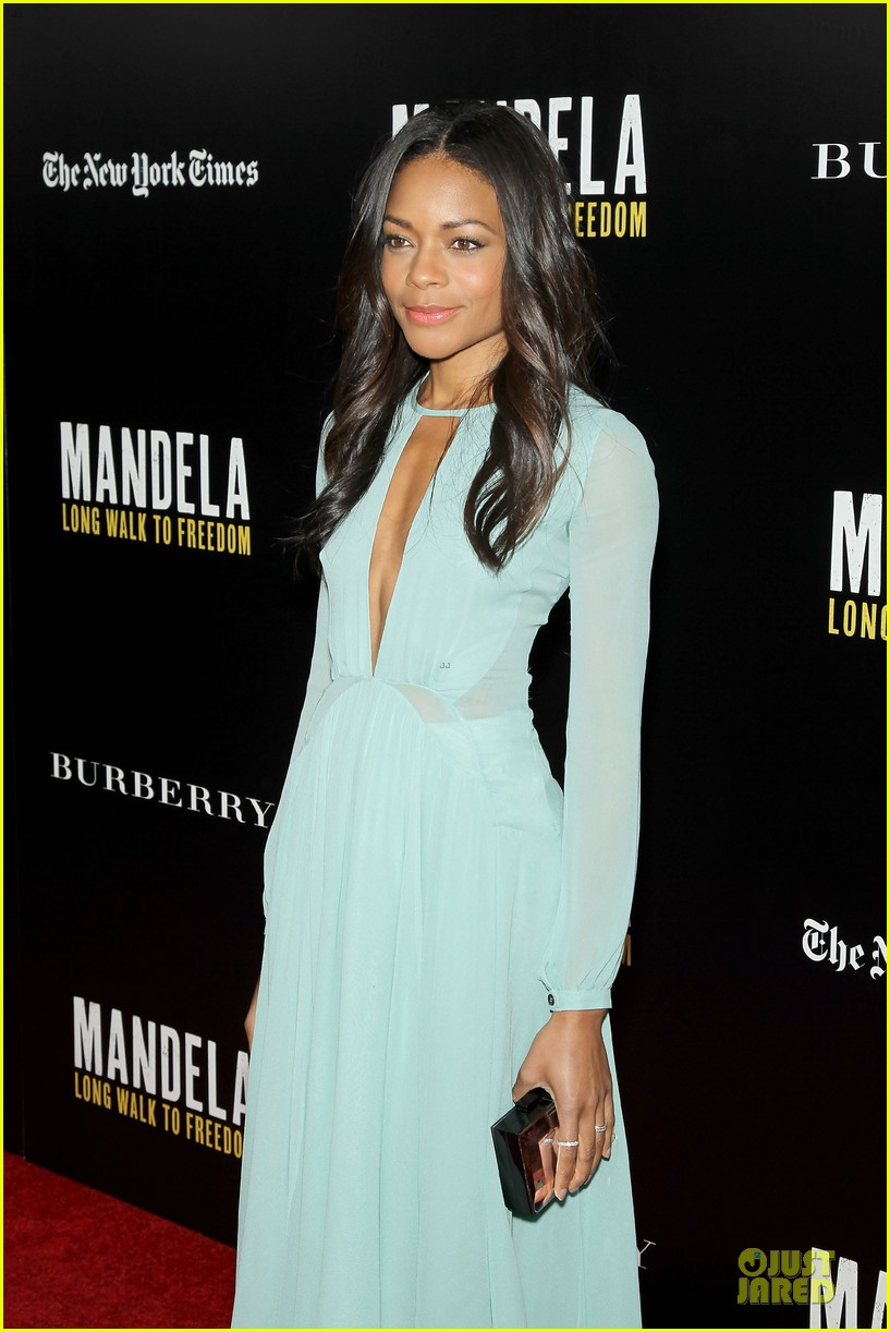naomie harris idris mandela nyc screening 153000374