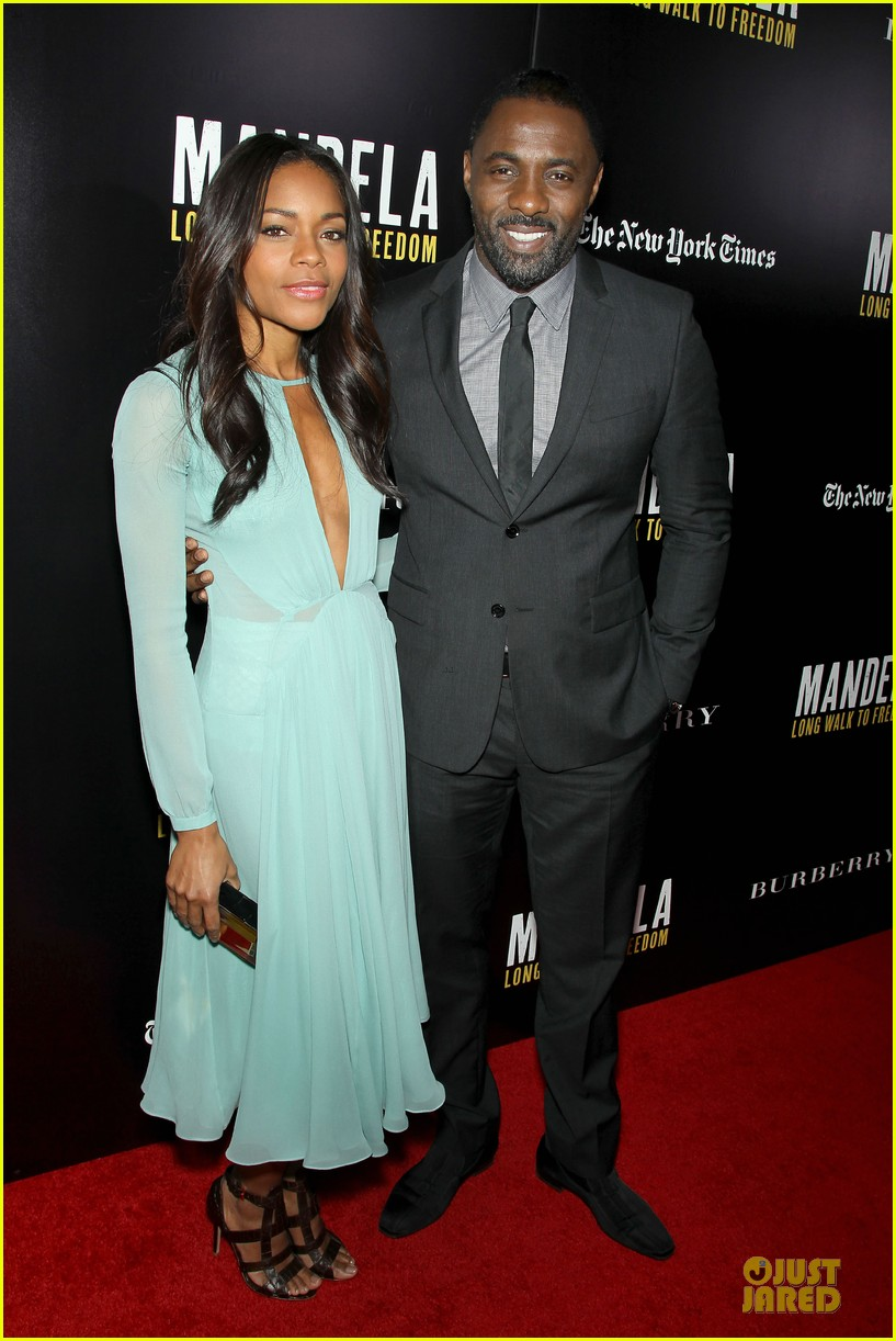 naomie harris idris mandela nyc screening 163000375