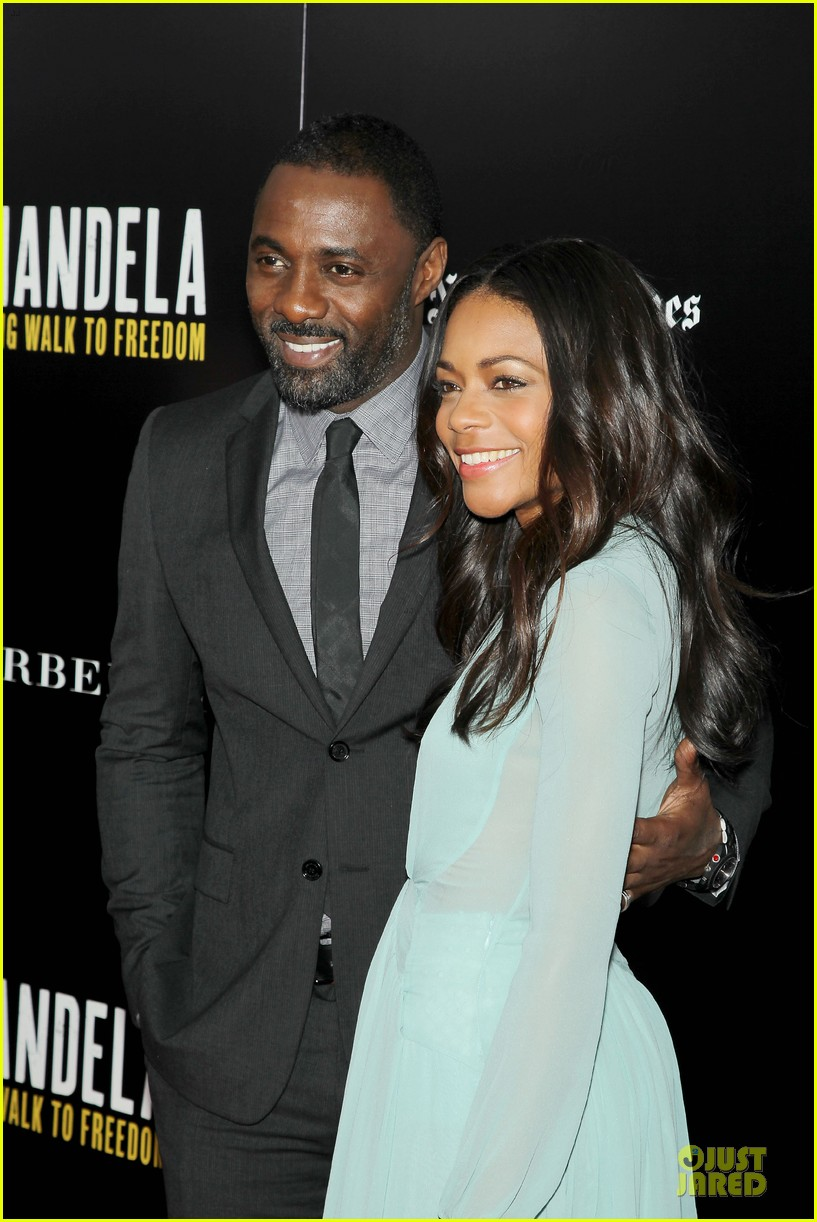 naomie harris idris mandela nyc screening 203000379