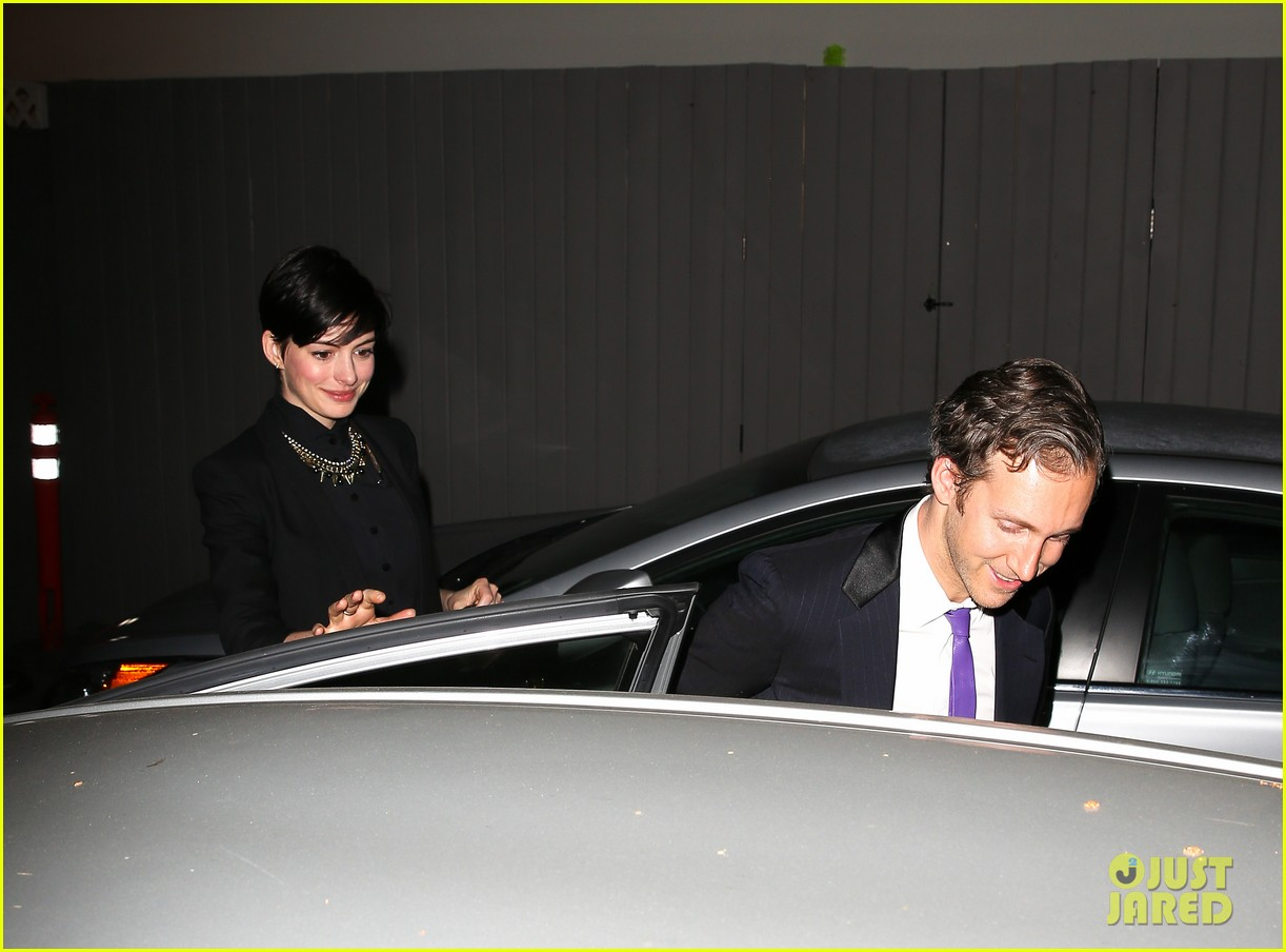 anne hathaway early birthday celebration with adam shulman 072990535