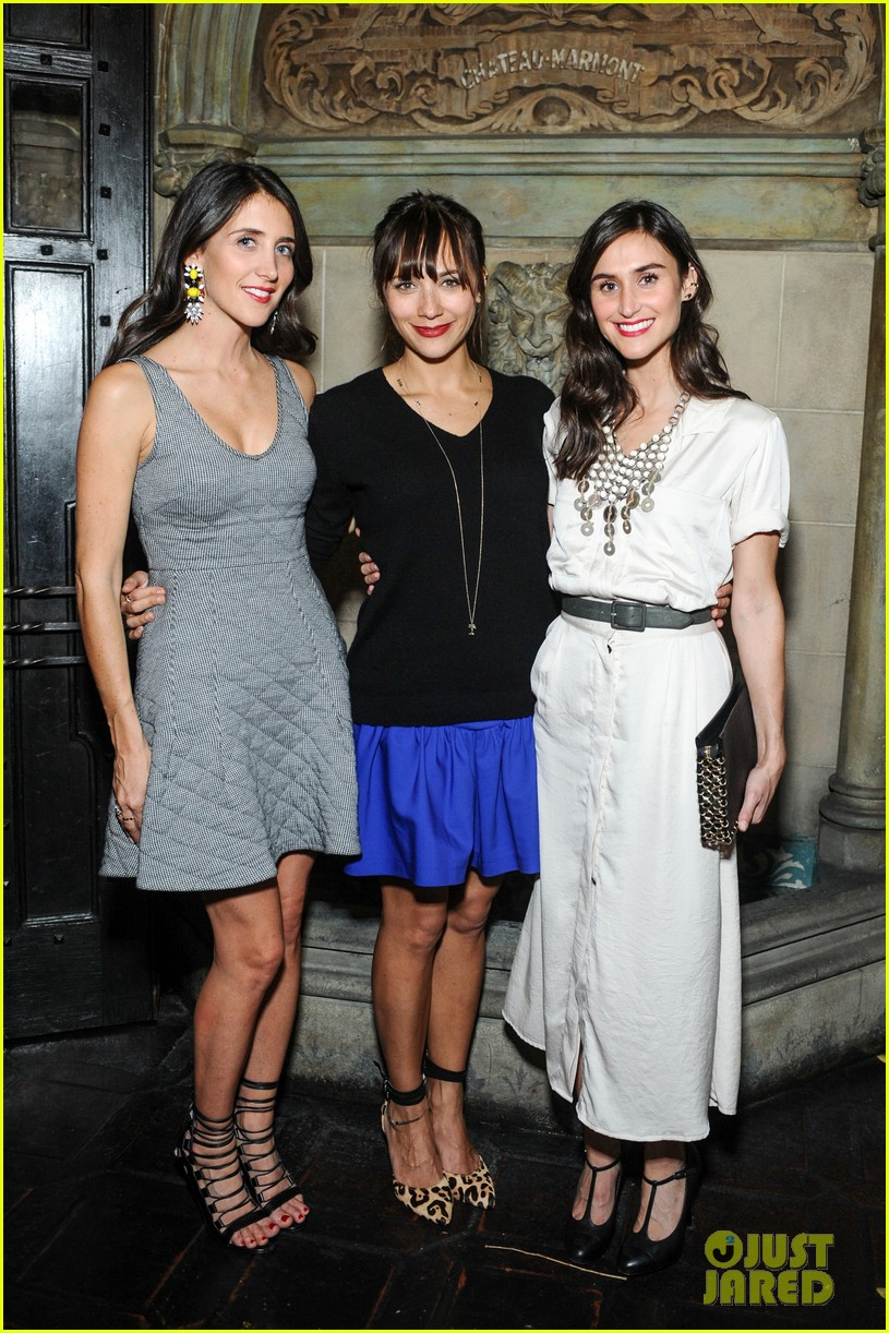 anne hathaway rashida jones fine by dannijones dinner 21