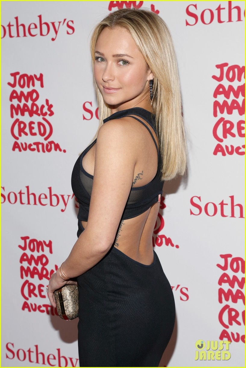 hayden panettiere anne v jony marcs red auction 022998713