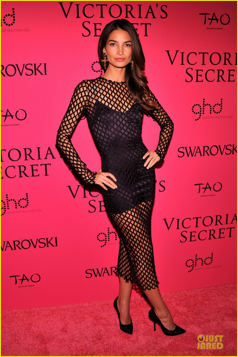 erin heatherton lily aldridge victorias secret fashion show after party 2013 03