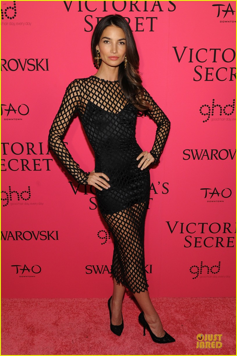 erin heatherton lily aldridge victorias secret fashion show after party 2013 082992433