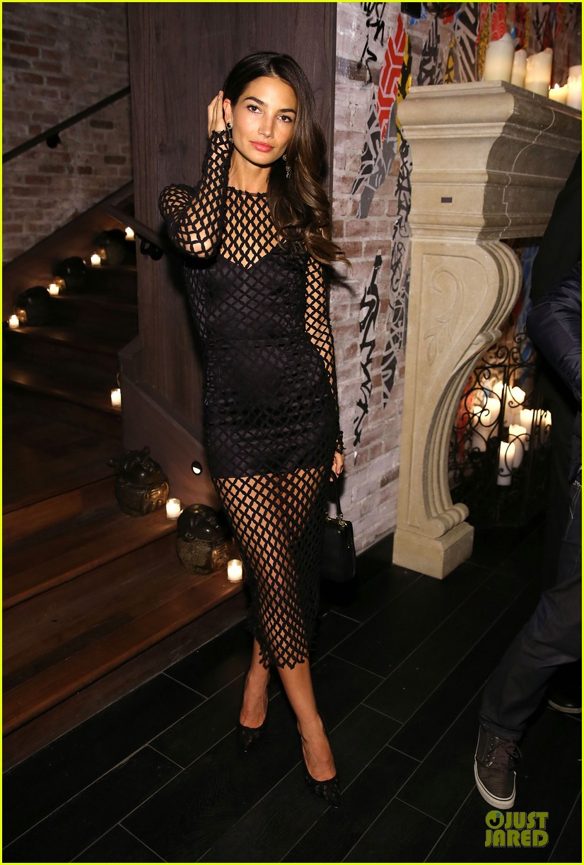 erin heatherton lily aldridge victorias secret fashion show after party 2013 15