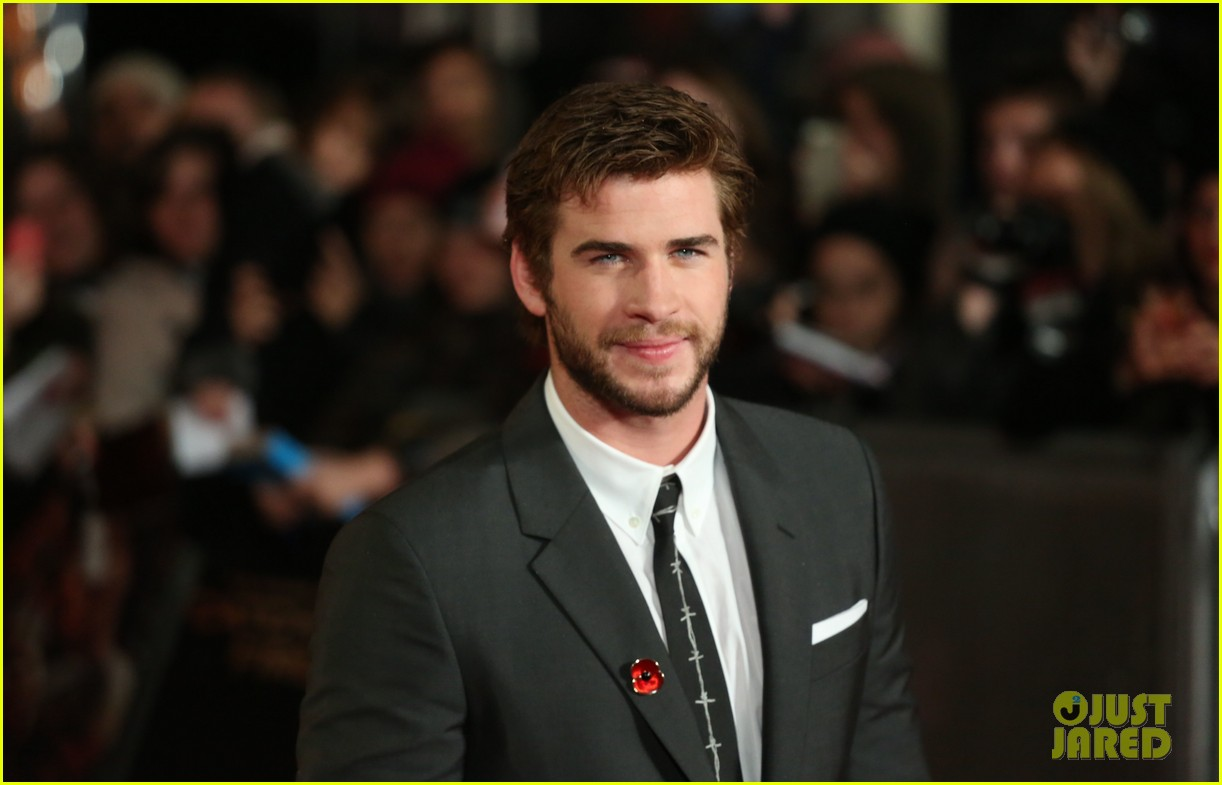 liam hemsworth josh hutcherson catching fire premiere 072990522