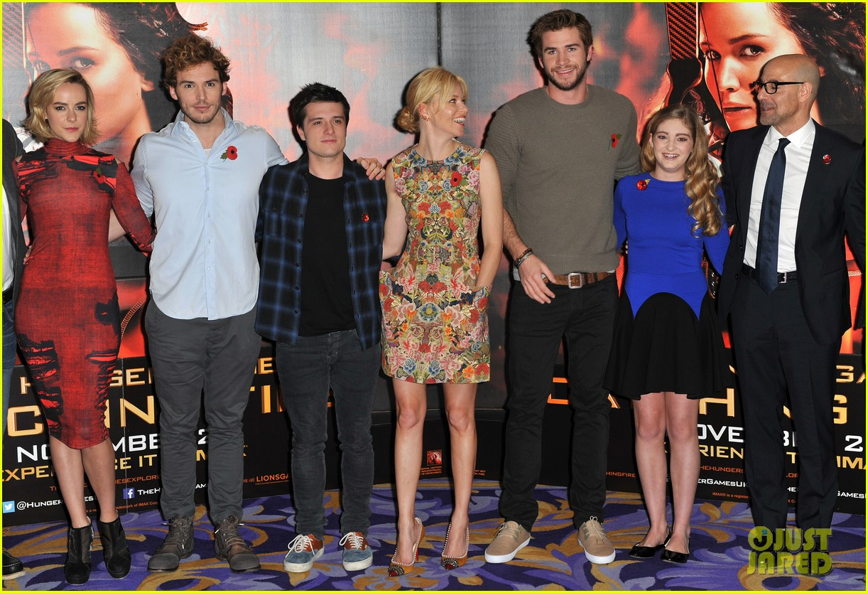 liam hemsworth josh hutcherson catching fire london photo call 222990228