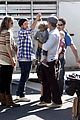 hilary duff mike comrie petting zoo with luca 29