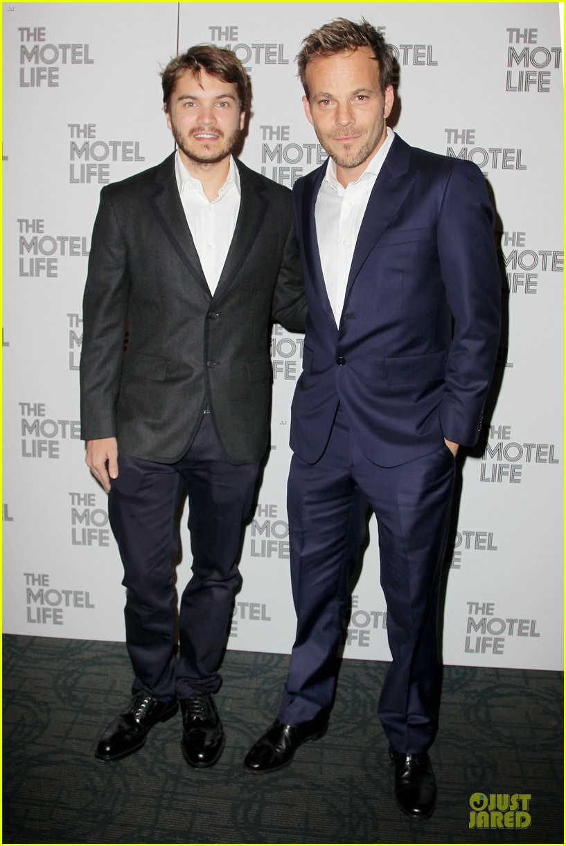 emile hirsch stephen dorff the motel life nyc screening 012986228