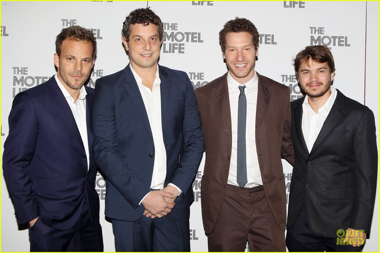 emile hirsch stephen dorff the motel life nyc screening 072986234