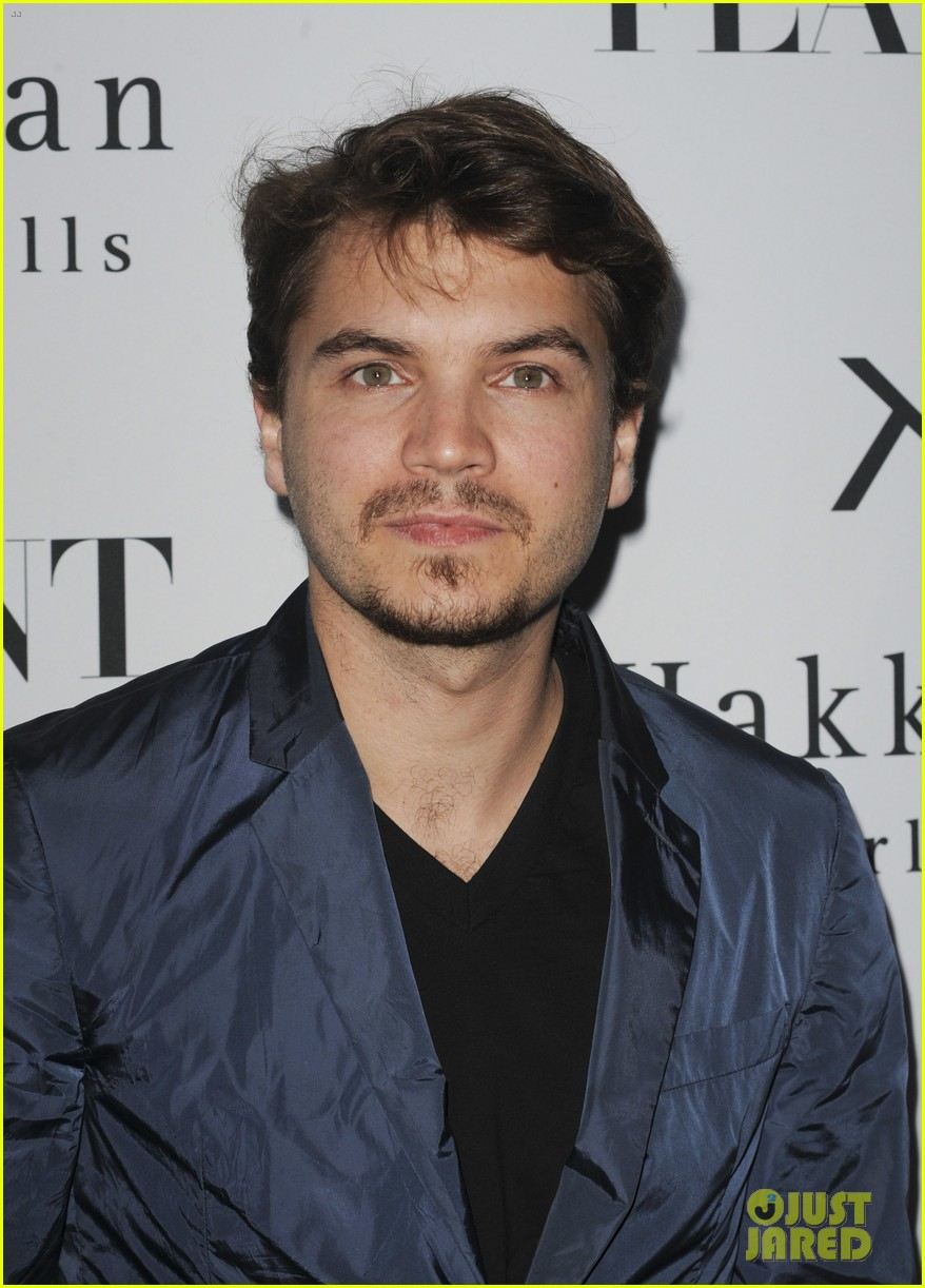 emile hirsch lydie hearst flaunt magazine launch party 042988299