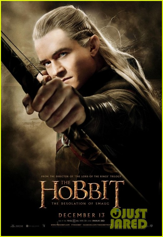 orlando bloom hobbit desolation of smaug character posters 052986076
