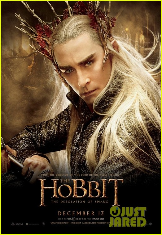orlando bloom hobbit desolation of smaug character posters 082986079