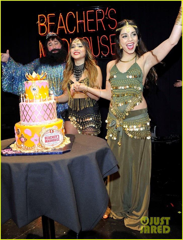 vannessa hudgens stella birthday party at beachers madhouse 262995400