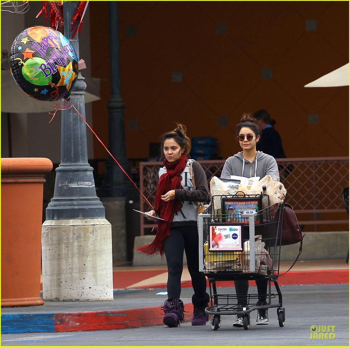 vanessa hudgens ralphs birthday shopping with stella 122994353
