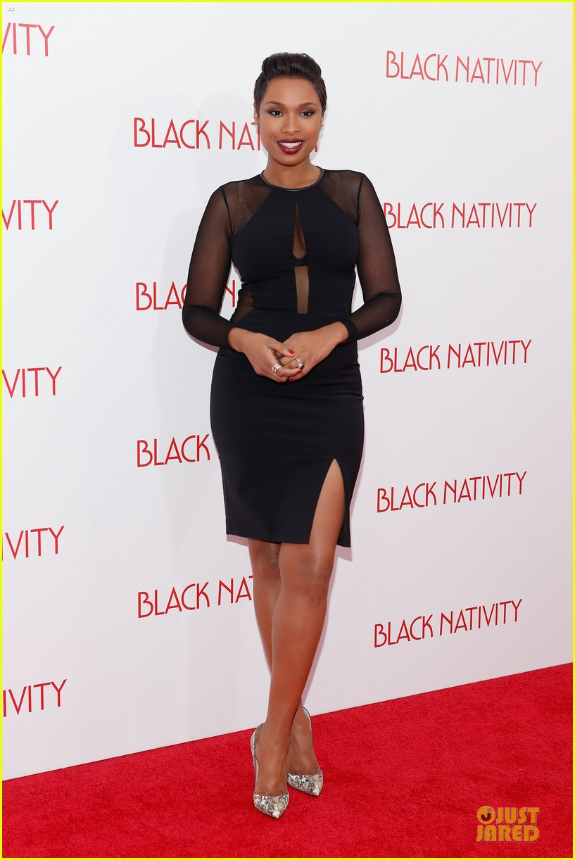 jennifer hudson angela bassett black nativity premiere 012995686