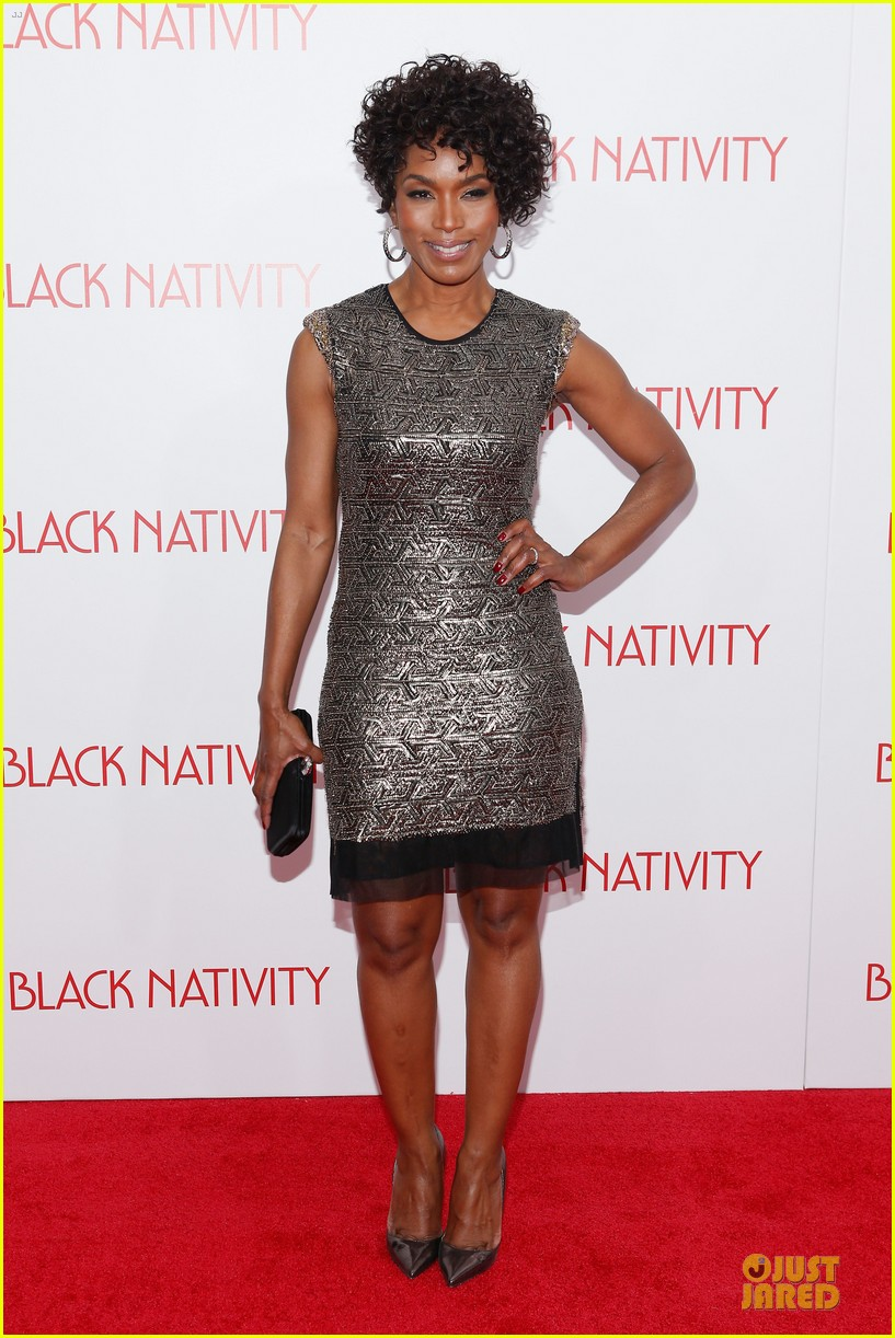 jennifer hudson angela bassett black nativity premiere 07