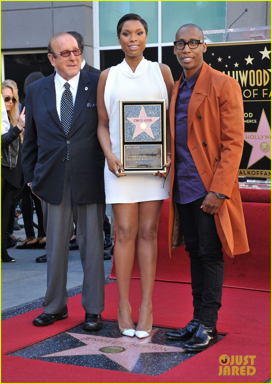 jennifer hudson receives star on hollywood walk of fame 082992021