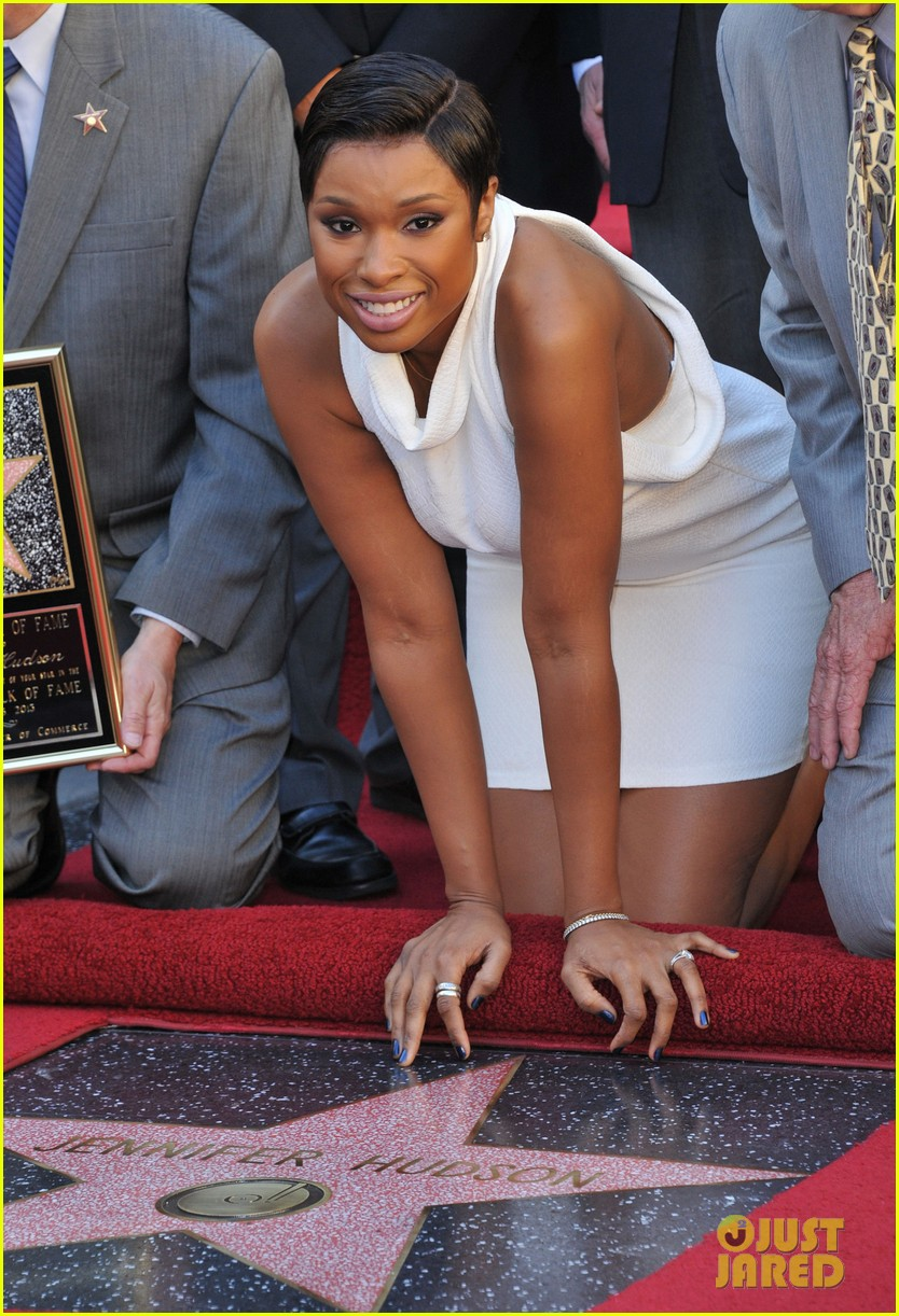jennifer hudson receives star on hollywood walk of fame 092992022